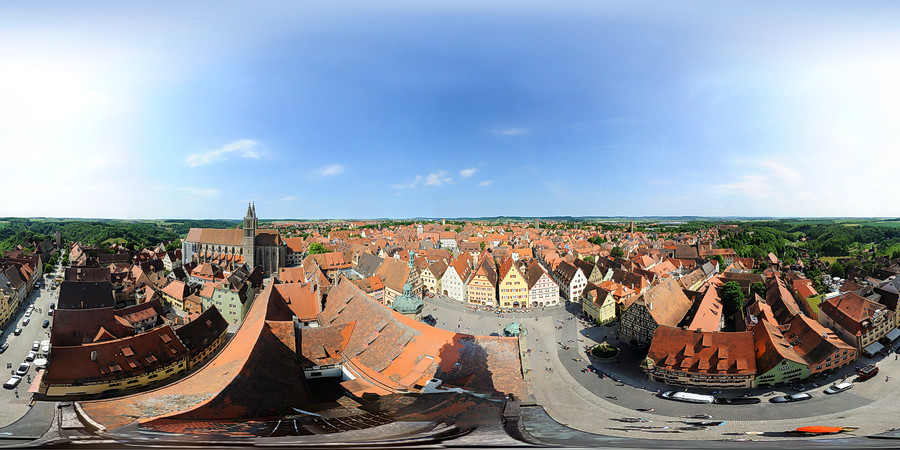 Spherical panoram of Rotenburg