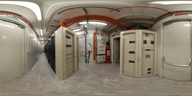 Virtual tour on data processing center