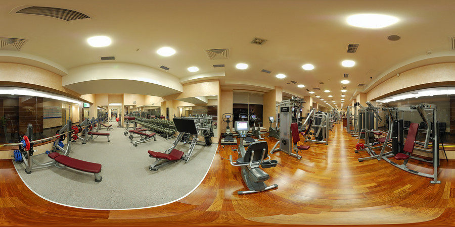 Virtual tour on X-Fit Fusion sport club