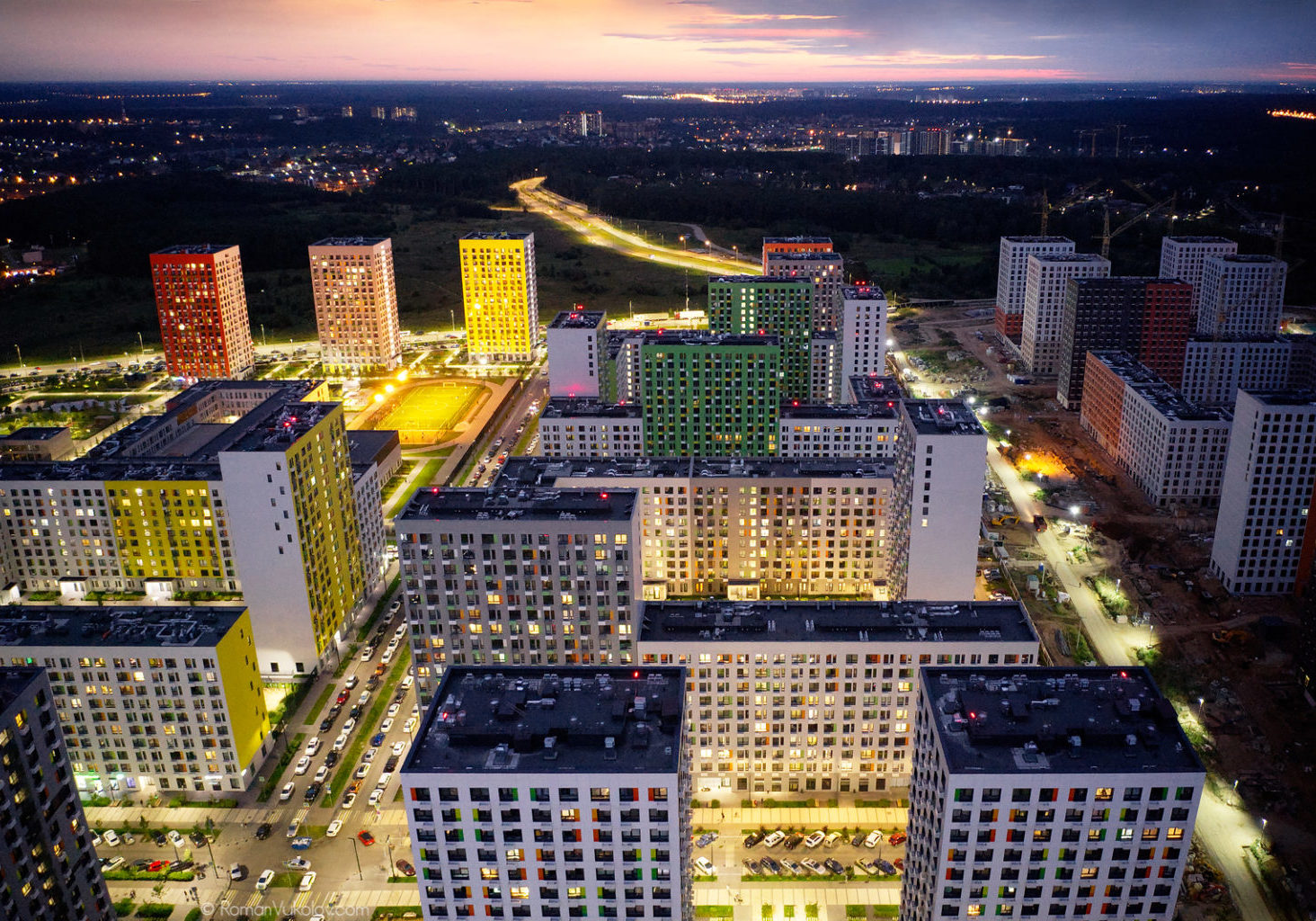 Architectural photography, Aerial photogrpahy. Architectural photographer Roman Vukolov.