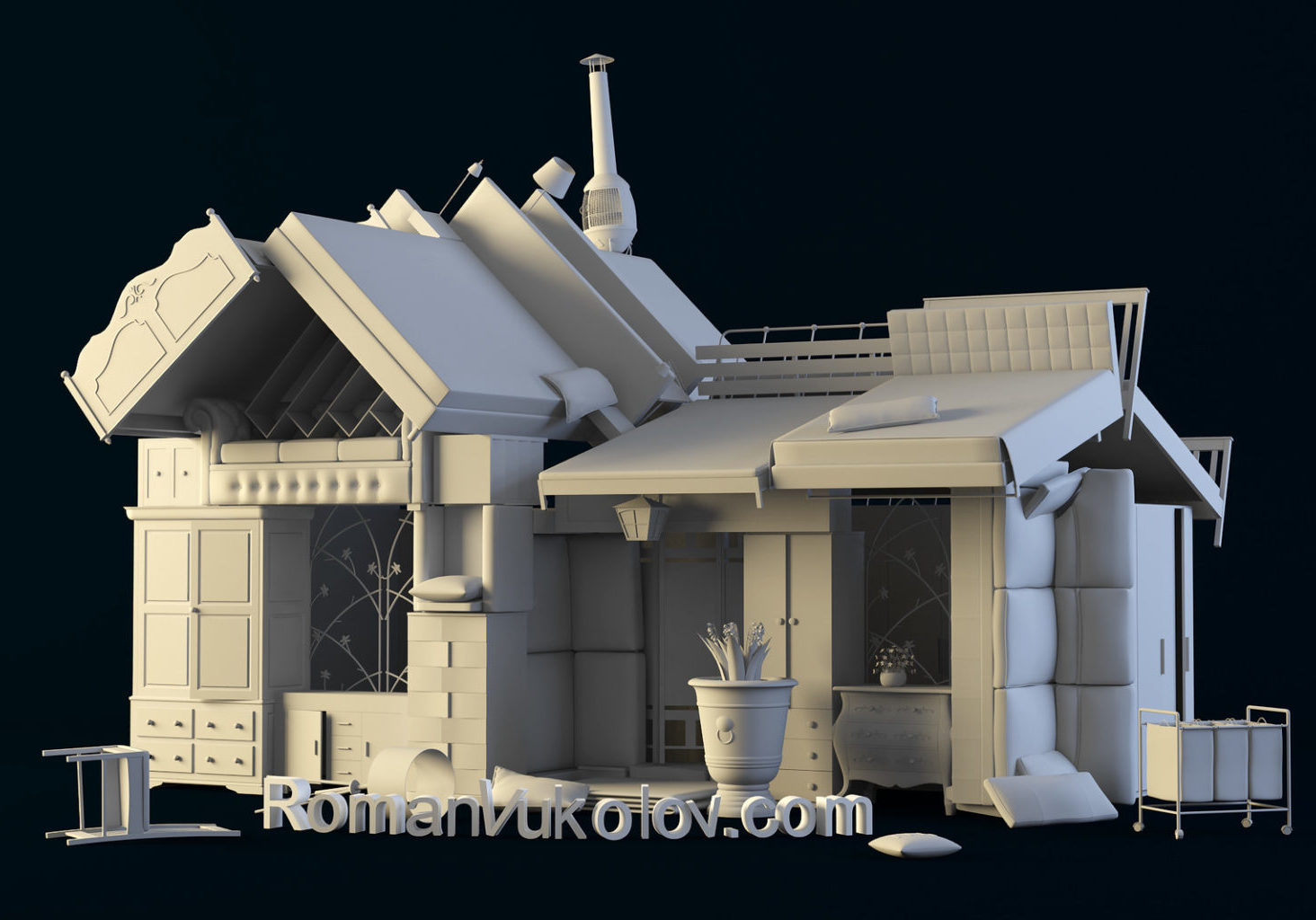 3d modeling and visualization. Roman Vukolov